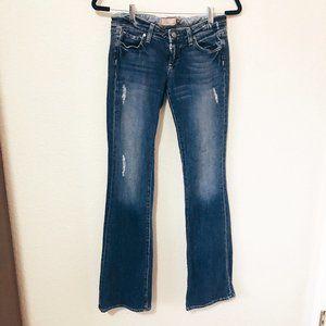 Paige Laurel Canyon Low Rise Boot Cut Jean Size 26